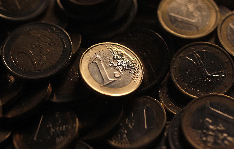 A Eurostat divulgou um balanço preocupante da moeda única europeia.