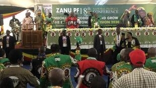 Scene from ZANU/PF's 18th National People's Conference attended by 5 000 delegates, Goromonzi, Mashonaland East, 15th December 2019