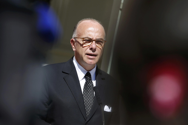 French Interior Minister, Bernard Cazeneuve.