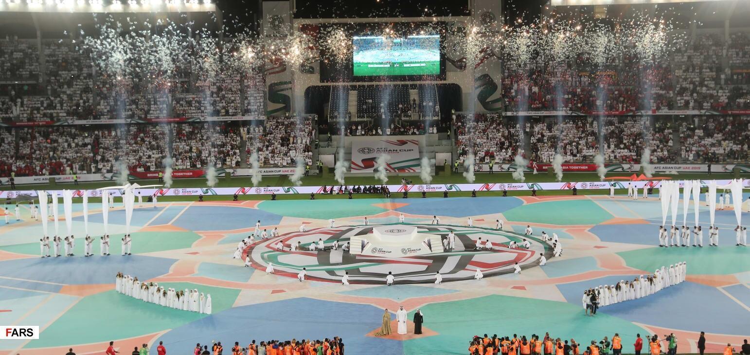 Khai mạc Cúp Bóng Đá Châu Á 2019 ở Abu Dhabi, ngày 05/01/2019.