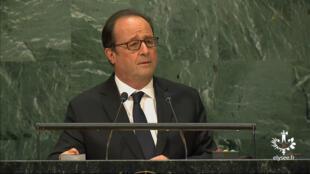 La France a envoyé en Irak quelques canons d'artillerie et environ 150hommes supplémentaires, a précisé cette semaine le chef de l'Etat, depuis les Nationsunies à NewYork. (septembre2016).