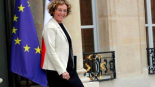 La ministre du Travail et la secrétaire d'Etat à l'Egalité, Muriel Pénicaud, doit faire un premier bilan de l'index de l'égalité femmes-hommes ce mardi 5 mars 2019.