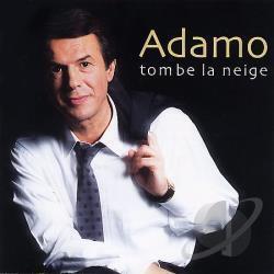 "Ảnh bìa đĩa CD ""Tombe la neige"" của Adamo."
