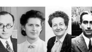Germaine Tillion, Geneviève de Gaulle Anthonioz, Pierre Brossolette et Jean Zay, au Panthéon