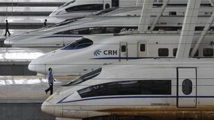 China faz recall de trens-bala
