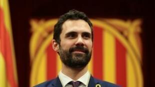 西班牙加泰羅尼亞自治區議會選出托倫德為議長。2018-01-17