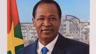 La nouvelle photo officielle du président burkinabè Blaise Compaoré.