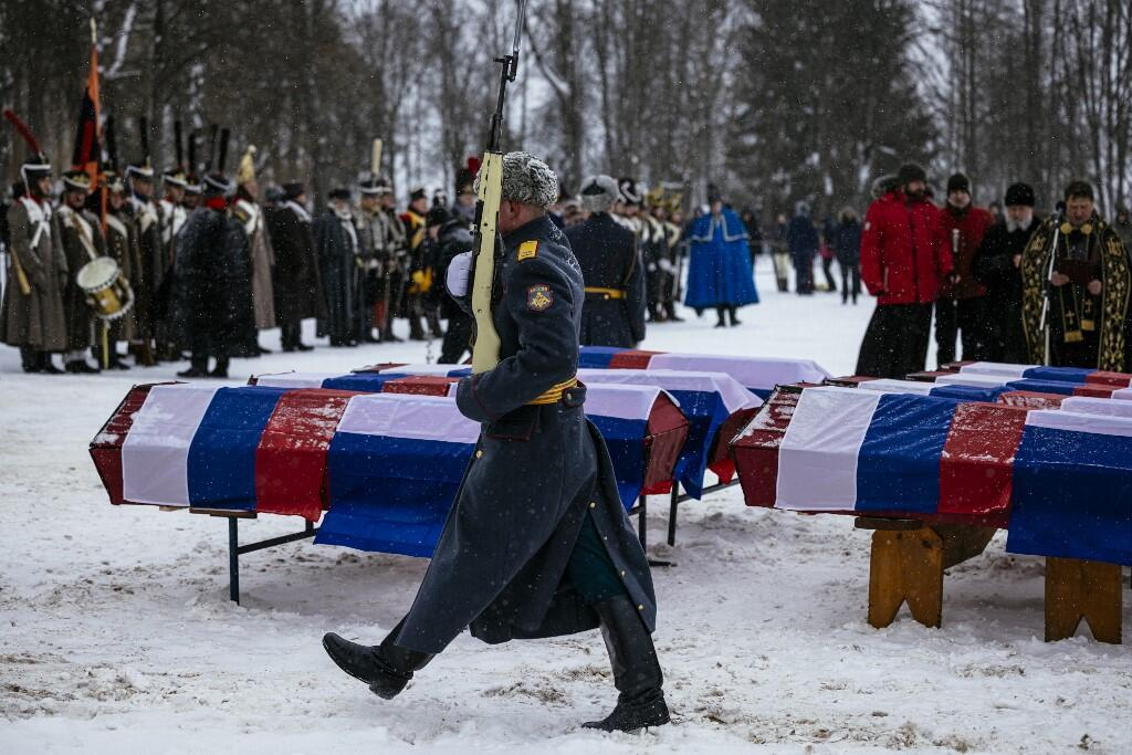 Vyazma Russian French soldiers buried Napoleon