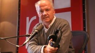 Pierre-Edouard Deldique, la Voix de RFI.
