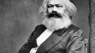 German philosopher Karl Marx in 1875.