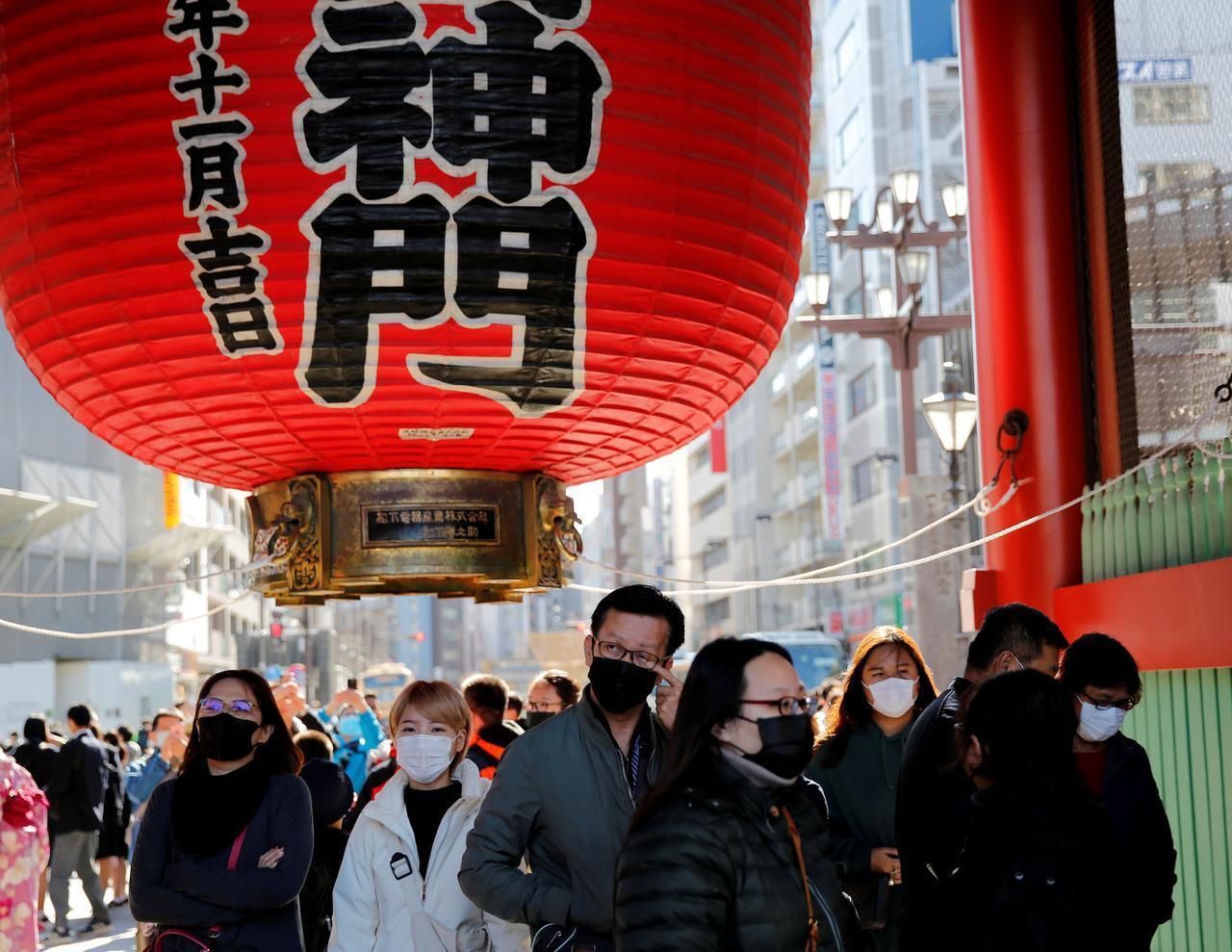 疫情中日本東京資料圖片