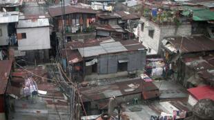 Một thành phố ổ chuột tại Manila (Philippines)