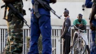 Photo d'illustration - juillet 2015. Au Burundi, les arrestations se sont multipliées parmi les sous-officiers dans l'armée et la police.