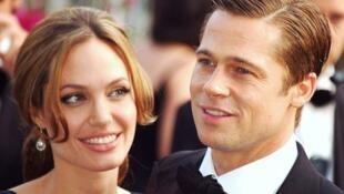 Angelina Jolie và Brad Pitt làm lễ kết hôn tại lâu đài Miraval - AFP
