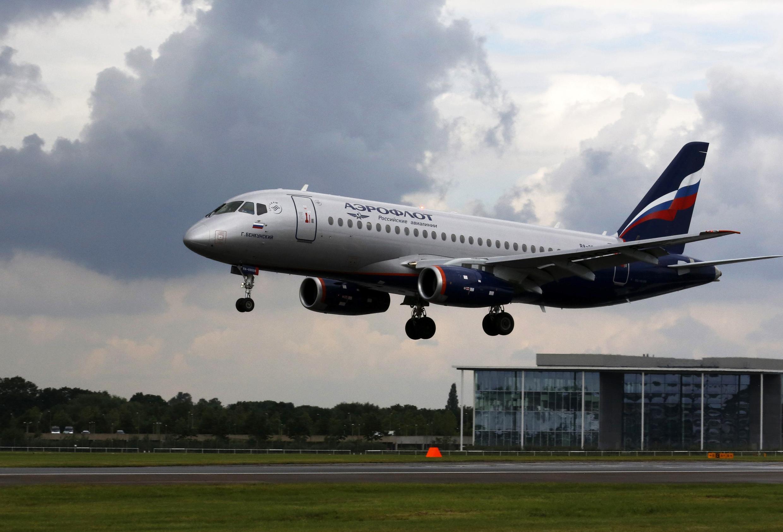 យន្តហោះរបស់ក្រុមហ៊ុនអាកាសចរណ៍រុស្ស៊ី Aeroflot