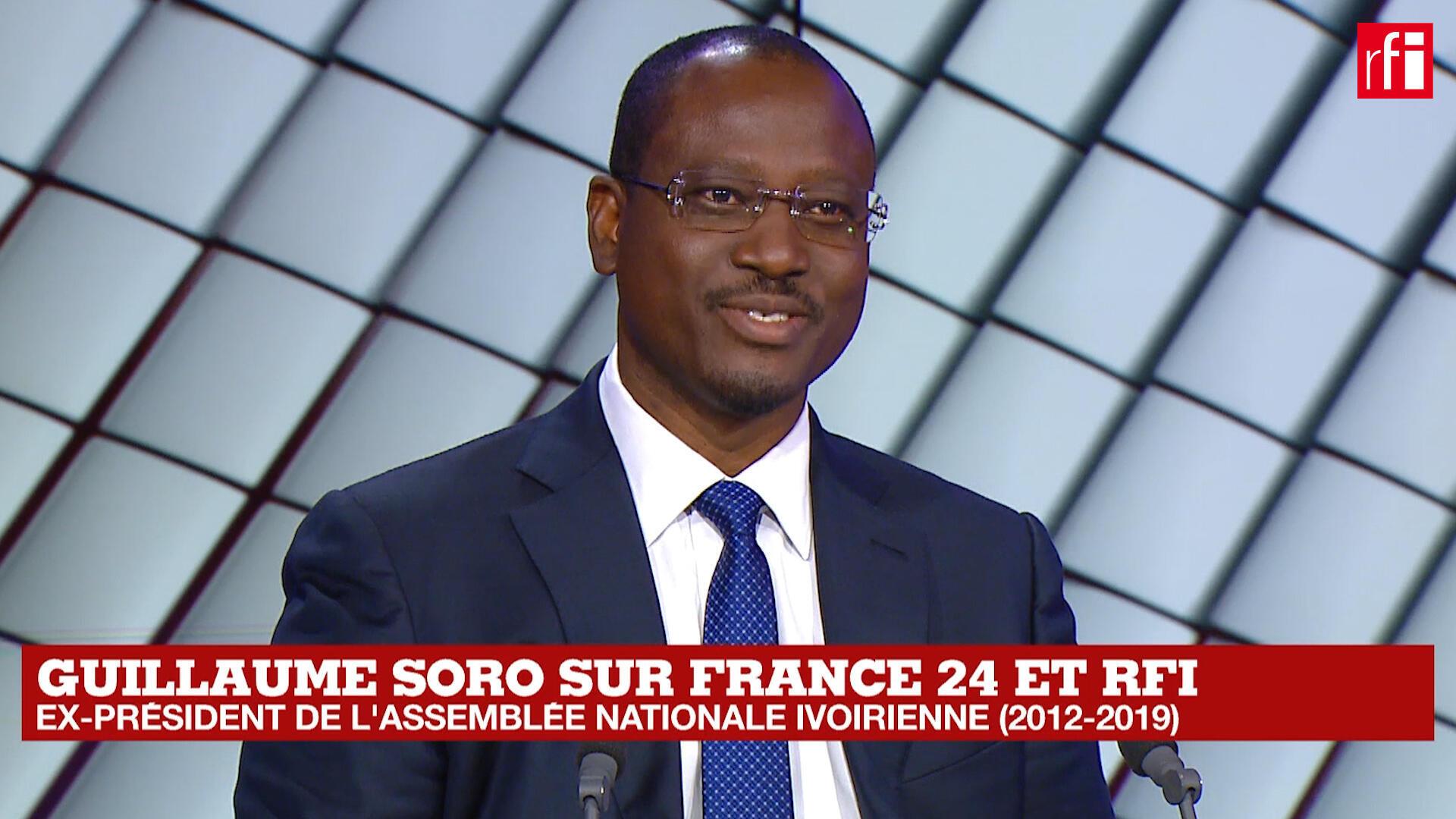 Guillaume Soro, tsohon shugaban majalisar dokokin kasar cote d'Ivoire.