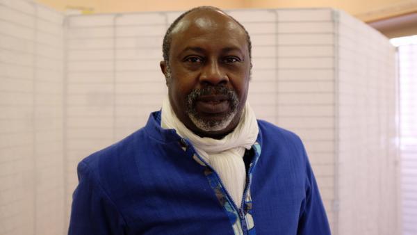 Hassane Kouyaté a mis en scène « Congo Jazz Band », pièce écrite par Mohamed Kacimi au festival francophone Les Zébrures d'Automne, à Limoges.