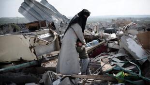En la Franja de Gaza, los palestinos viven en la miseria.