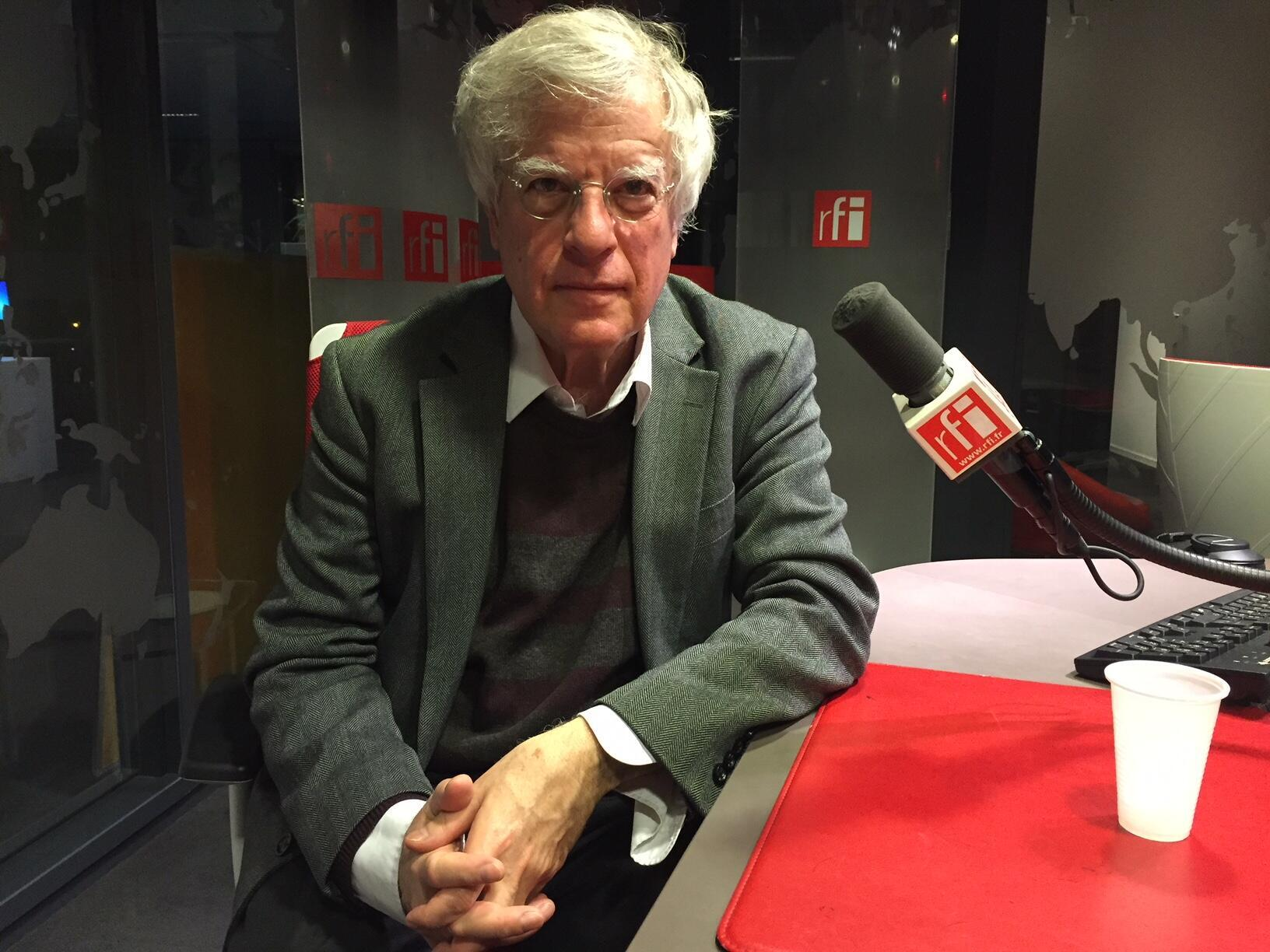 Дэвид Саттер в студии RFI, 20 января 2018 года