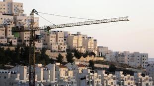 Строительство под Иерусалимом 03/01/2014