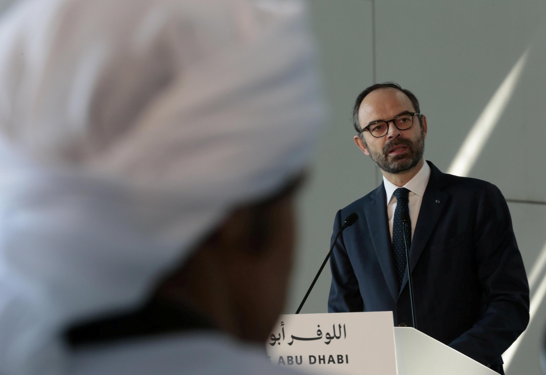 بازدید ادوار فیلیپ نخست وزیر فرانسه از موزه لوور ابوظبی