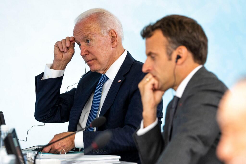 Joe Biden et Emmanuel Macron