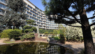 Le siège de l'Unesco, avenue de Suffren, à Paris.