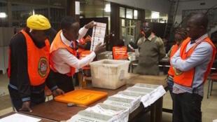 Ana cigaba da karbar sakamakon zabe a Zambia