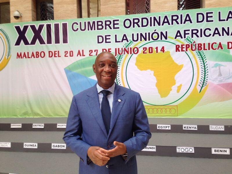 Oldemiro Baloi na 23a Cimeira da União Africana