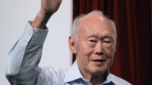 Ông Lý Quang Diệu - Ảnh chụp ngày 14/09/2011.
