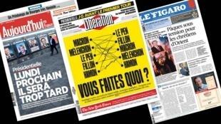 Os jornais franceses Libération, Aujourd'hui en France e Le Figaro comentam a indecisão dos franceses quanto ao voto para as próximas eleições.