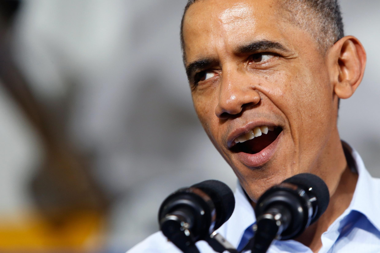 Barack Obama, el presidente demócrata de Estados Unidos.