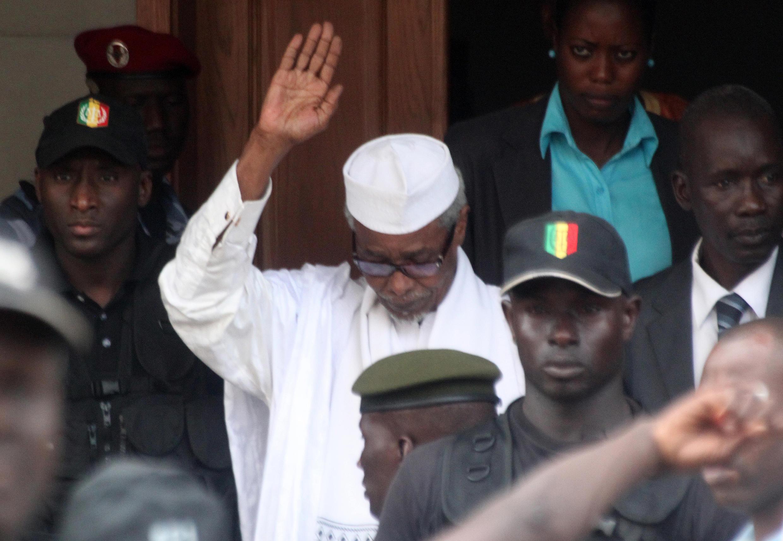 Marigayi Hissène Habré tsohon shugaban kasar Chadi.
