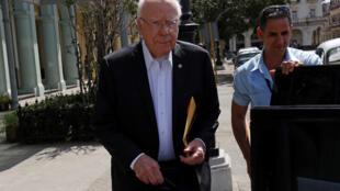 Thượng nghị sĩ Patrick Leahy dẫn đầu phái đoàn Mỹ đến thăm La Habana, Cuba ngày 20/02/2018.