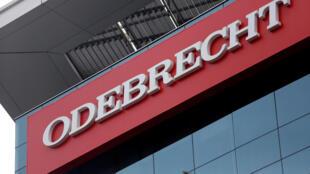 Fachada da construtora Odebrecht em Lima, no Peru