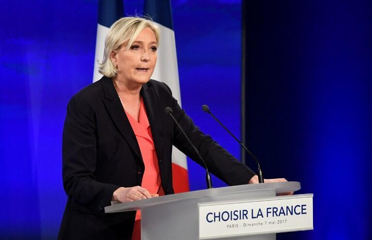 Aliyekuwa mgombea urais nchini Ufaransa Marine Le Pen
