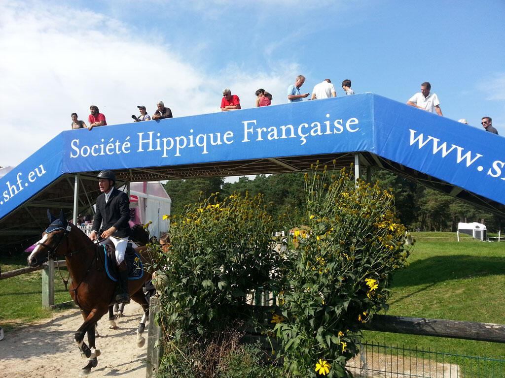 Semaine hippique au Stade Equestre du Grand Parquet à Fontainebleau.