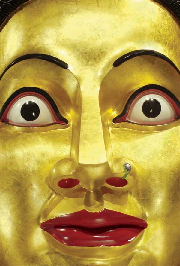 Esta cabeza de diosa abre la exposición París-Delhi-Bombay