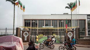 Le Parlement camerounais, à Yaoundé.