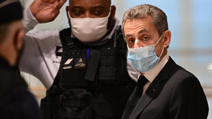 2020-12007 French ex-president Nicolas Sarkozy trial corruption Paris courthouse