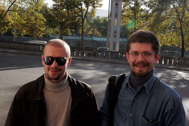 Гига Чихладзе (слева) и Александр Климчук
