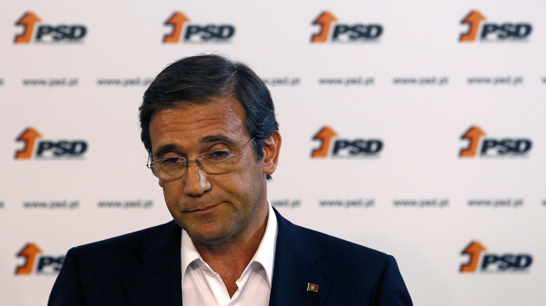 El primer ministro portugés Pedro Passos Coelho.