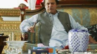 Waziri Mkuu wa Pakistan Nawaz Sharif ambaye ametaka Marekani kuacha kutumia ndege zisizo na rubani kufanya mashambulizi