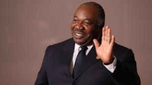 Rais wa Gabon Ali Bongo katika mkutano wa 10 wa Brics Julai 27 huko Johannesburg.