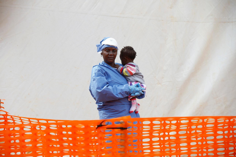 Butembo (RDC): Victorine Siherya est une survivante d'Ebola ; désormais elle se consacre aux soins aux bébés malades (mars 2019).
