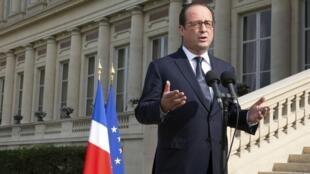 El pasado 4 de agosto, durante un acto de conmemoración de la Gran Guerra, Hollande fue hasta exigir responsabilidad y capacidad de reacción a los mandatarios europeos.