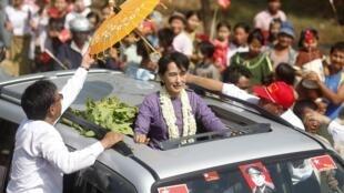 Аун Сан Су Чжи, 11 февраля 2012 года