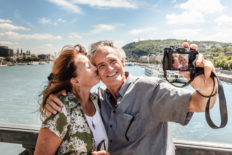 Des retraités qui profitent de leur temps libre.