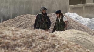 Джихадисты в Сирии, Алепо, 30 апреля 2014 года