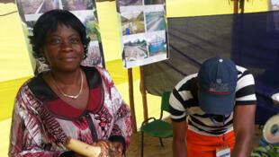 Marcelline Koutatouka, ingénieur en agronomie tropicale et  coordonatrice départementale du Kouilou de la CNOP Congo.
